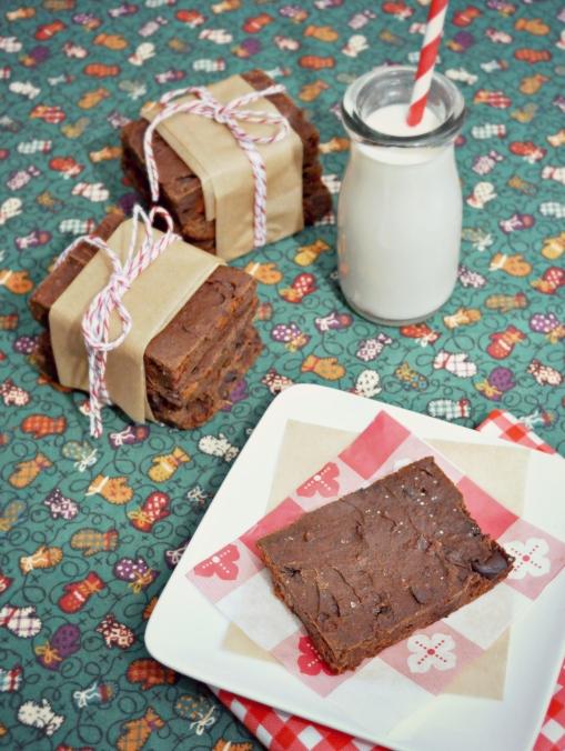 brownie with milk 3